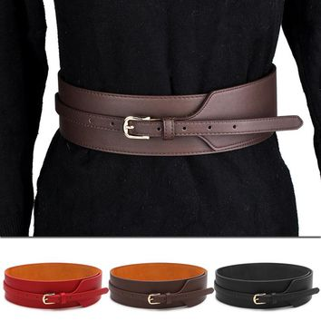 Genuine Leather Belt For Pin Buckle Cowhide Leather Women Belts Joker Wide