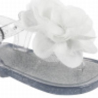 Baby & Toddler Clear Jelly Sandal with Flower