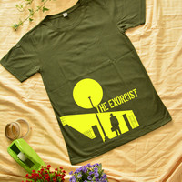 """""""THE EXORCIST"""" print at the bottom on T-shirt short sleeve"""
