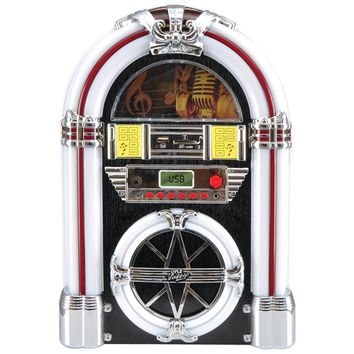 Pyle Pro Bluetooth Retro Jukebox Mp3 Speaker System
