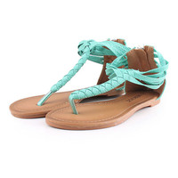 PenBangs — Braided Simple Sandals Shoes