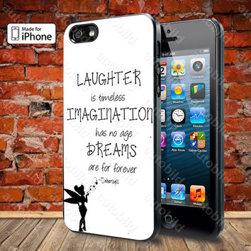 Tinkerbell Quote Case For iPhone 5, 5S, 5C, 4, 4S and Samsung Galaxy S3, S4