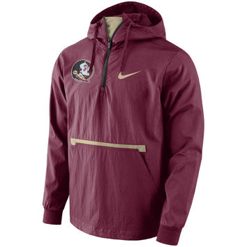 Florida State Seminoles Nike Packable Woven Jacket - Garnet