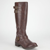 Soda Info Womens Boots Brown  In Sizes