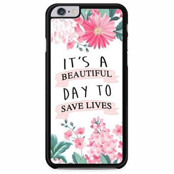 Grey Anatomy Quotes iPhone 6 Plus/ 6S Plus Case