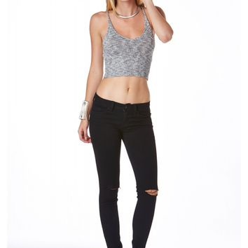 Ashika Sweater Crop Top