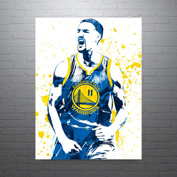 Klay Thompson Golden State Warriors Poster