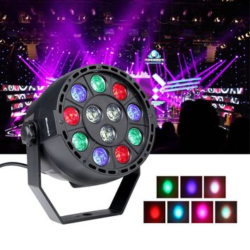 2017 Hot 15W AC 90-240V PAR Light Stage Effect Light Entertainment Stage Light Disco Professional Dj DMX-512 Party Projector