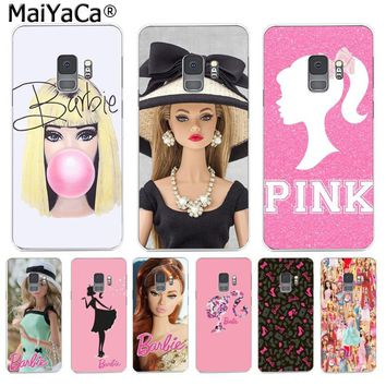 MaiYaCa for barbie Bitch doll face 1959 Color Phone Case for Samsung S9 S9 plus S5 S6 S6edge S6plus S7 S7edge S8 S8plus