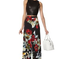 alice + olivia | SUPER FLARED WIDE LEG PANT