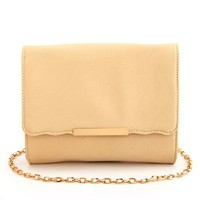 Scalloped Flap Cross-Body Bag: Charlotte Russe