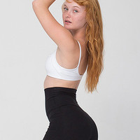 Cotton Spandex Jersey High-Waist Hot Short | American Apparel