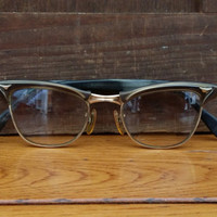 Vintage 1950s Cat Eye Frames Retro Eyeglasses Eyewear
