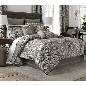 Croscill Amadeo Comforter Set - King Smoke - Zappos.com Free Shipping BOTH Ways