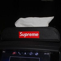 Supreme Leather Car Paper Towel Box Car Supplies