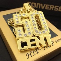 Jewelry Gift Shiny Stylish New Arrival Hip-hop Accessory Diamonds Necklace [47755460620]