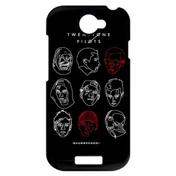 Poster For Twenty One Pilots HTC One S Case