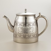 Perfectly Brewed Stainless Steel Teapot