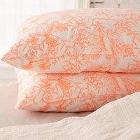 Delicate Botanical Pillowcase Set | Urban Outfitters