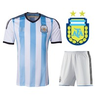 Oruqto 2014 Argentina national team jerseys Soccer Jersey Kit football team clothing - DinoDirect.com