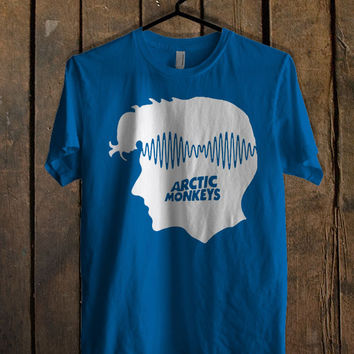 Alex Turner Arctic Monkeys Blue For Mens T Shirt, Womens T Shirt ***