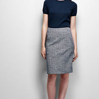 Women's Ponté Pencil Skirt from Lands' End