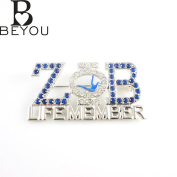 ZETA PHI BETA Sorority  Life Member Lapel Pin