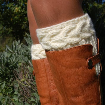 Pattern Women39 Cable Knit Boot Cuff From Edity