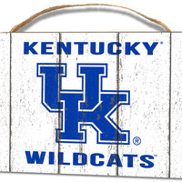Kentucky Wildcats Small Plaque - Weathered Logo