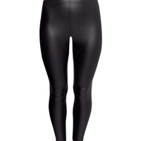 H&M+ Coated leggings - from H&M