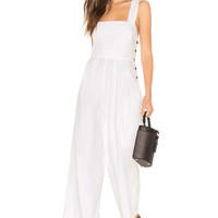 Free People Fara Jumpsuit in White