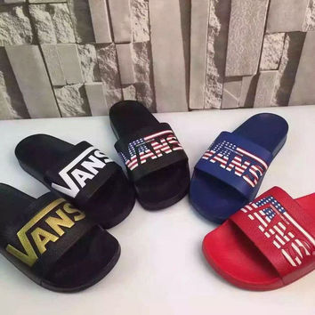 VANS Women Fashion Multicolor Fashion Slipper Shoes
