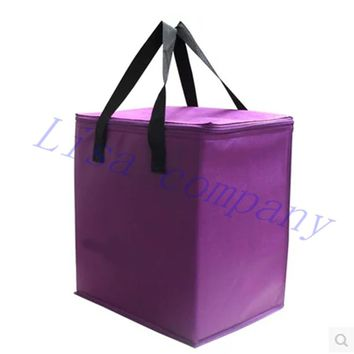 Portable Insulated Picnic Lunch Bag Thermal Food Picnic Bag for Women Kids Men Thermo Cooler Camping Picnic Lunch Box Bag