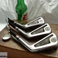 3 Golf Club Bottle Openers - Wilson '1200' Irons - Groomsmen Gifts
