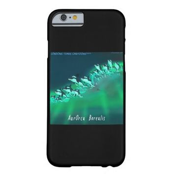 Funny Aurora Borealis Orca iPhone 6 Case
