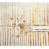 Oliver Gal, Love Force Field Gold, Acrylic / Lucite, Paintings