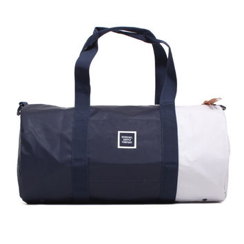 Studio Collection Sutton Mid Volume Duffle Bag Navy Poly Coat