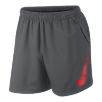 Nike Amplify Woven Graphic Men's Soccer Shorts - Dark Grey