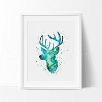 Deer Stag Head 2