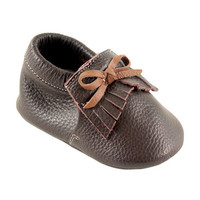 Hudson Baby Boy's Leather Moccasins | Affordable Infant Clothing