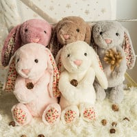Kawaii plush rabbit bunny toys toys for children kids gifts brinquedos peluches soft toys stuffed ty plush animals doll juguetes