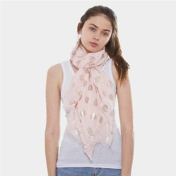 Rose Gold Rectangle Scarf