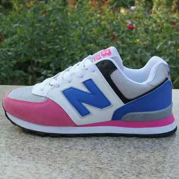 """""""New Balance"""" Women Sport Casual Multicolor N Words Breathable Sneakers Running Shoes"""