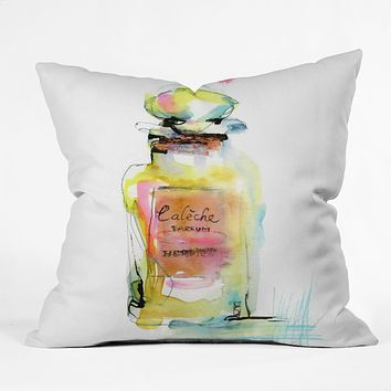 Marta Spendowska Perfume 1 Throw Pillow