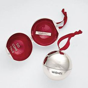 wish ball ornament from RedEnvelope.com