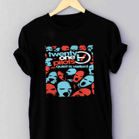 NEW 21 TWENTY ONE PILOTS - T Shirt for man shirt, woman shirt *NP*