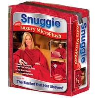 As Seen on TV SNUGGIE Microplush (Extra Soft and Luxurious) RED