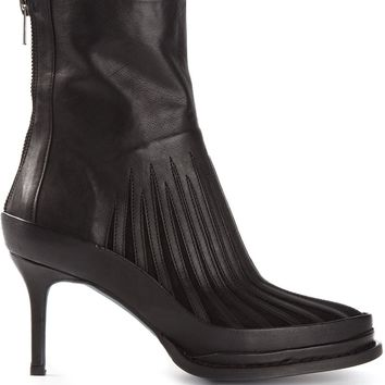 Ann Demeulemeester Gated Ankle Boots