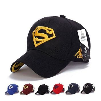 ESBG8W 2017 NEW Brand SUPERMAN Polo Snapback Mens Baseball Caps Women Fitted Adjustable Hat Gorras Planas Casquette Chapeau Homme