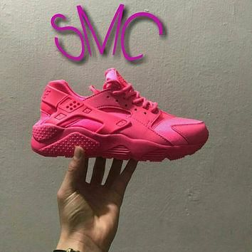 Nike Air Huarache Painted Nike Shoes sneakers Runners Women's Shoes Customized Spraye